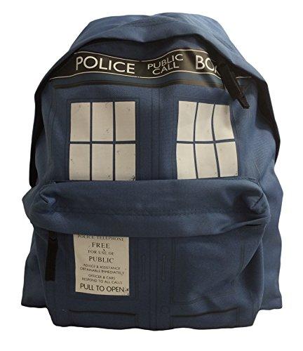 Dr Who Tardis Rucksack blau. Offiziell lizenziert