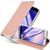 Cadorabo Funda Libro para LG G5 en Classy Oro Rosa - Cubierta Proteccíon con Cierre Magnético, Tarjetero y Función de Suporte - Etui Case Cover Carcasa