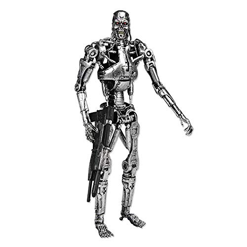 AEH The Terminator Endoskeleton 18 cm Sammelfiguren Model Figur Statue Hobbys Sammelfiguren Requisiten,A