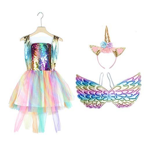 ABOOFAN Tutu Falda para Mujer Vintage Ballet Ballerina Adult Clown Costume with Wing for Dance Unicorn Princess Costume