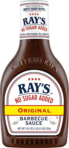 Sweet Baby Ray's No Sugar Added Original Barbecue Sauce 18.5oz