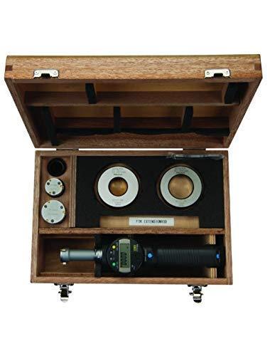 WJSW 568-926 Set di Teste intercambiabili per Calibro Borematic LCD, Gamma 25-50mm, risoluzione 0.001mm, precisione 0.006'