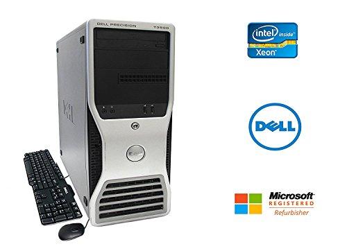 Dell Precision T3500 Workstation Intel Xeon Quad Core X5570 2.93GHz 16GB RAM 1TB Hard Drive NVIDIA Quadro DVDRW WiFi Win 7 Pro 64-bit
