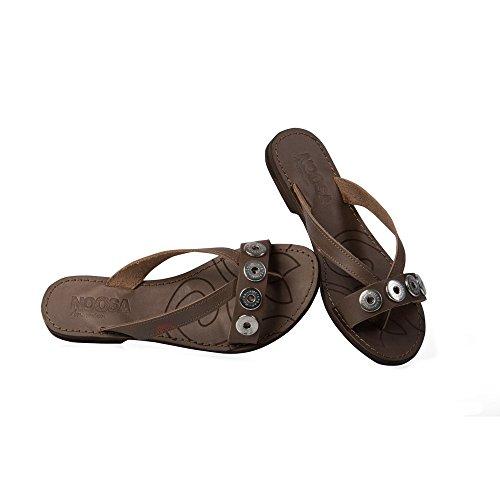 Noosa Sandalen Classic Sandal grey, Grösse:EUR 36