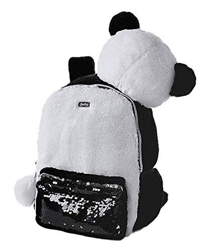 Justice Panda Critter Girls Backpacks - Cute and Pretty Backpack for Girls in Kindergarten Elementary and Middle School