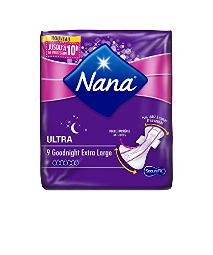 Nana Ultra Goodnight - Serviette hygiénique pour...