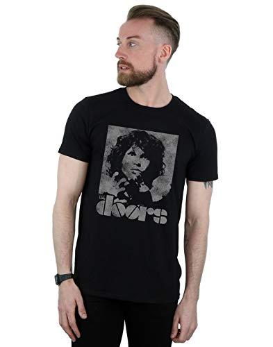 The Doors Men's Jim Break On Through T-Shirt Black X-Large