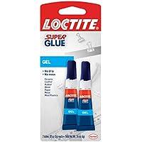 2-Pack Loctite Super Glue Liquid Squeeze Tube, 2 Gram