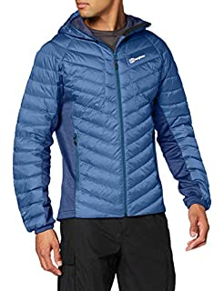 Berghaus Men's Tephra Stretch Reflect Hooded Insulated Down Jacket, Deep Water, S (B07DL1C96X) | Amazon price tracker / tracking, Amazon price history charts, Amazon price watches, Amazon price drop alerts