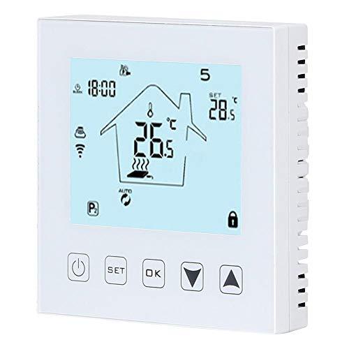 Caredy Termostato, Wi-Fi Termostato Inteligente Pantalla táctil...
