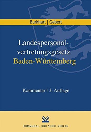 Landespersonalvertretungsgesetz Baden-Württemberg: Kommentar