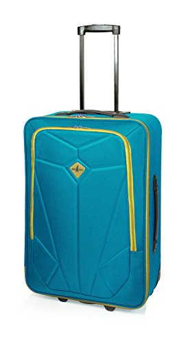Maleta de Viaje Pocket de John Travel, 65 cm, 2 Ruedas