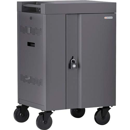 Best Review Of 270 Degree Doors - cart (Charge only) for 20 Tablets/notebooks - Lockable - Welded St...