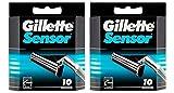 Gillette Sensor Razor Refill Cartridges 20 count...