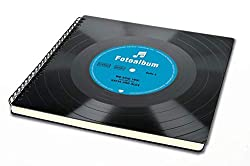 Retro Fotoalbum aus Schallplatte - Personalisiertes Geschenk - alternative Hochzeit - Musik - Hochzeitsgeschenk