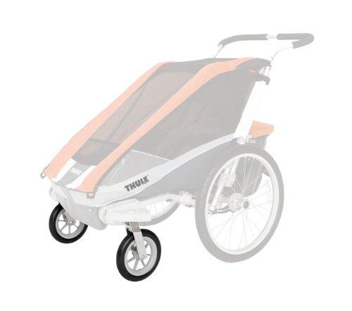 Thule 20100209 - Kit para paseo con dos ruedas giratorias de 8'