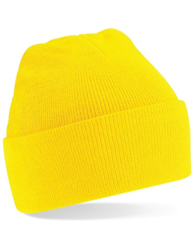 Beechfield BC045 Original Cuffed Beanie - Yellow - One Size
