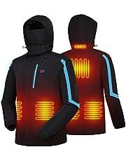 【Amazon限定ブランド】 電熱ジャケット 温度調整機能付き 防寒着 ヒーター内蔵 加熱服 撥水機能 NAFUAIR