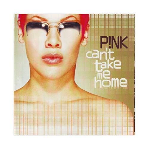 Cantante compositor bailarín P!nk Can't Take Me Home Álbum de lona para decoración de dormitorio, paisaje, oficina, habitación, regalo, 50 x 50 cm, estilo unframe-1