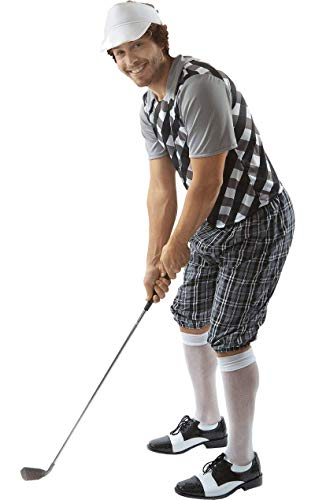 Orion Male Golfer Costume (Black & White)