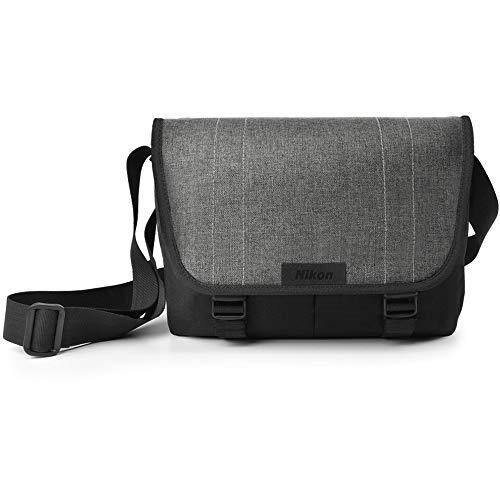 Schwarz & Grau Umhängetasche für Kamera