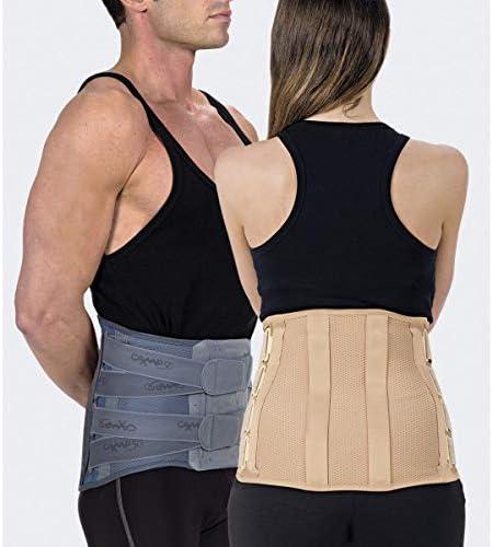 TIELLE CAMP Modello 2132 Elcross light corsetto semirigido lombosacrale con rinforzi paravertebrali e tiranti pelvici Small