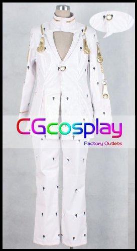 『★CGcosplay★ 【男性Mサイズ】 ジョジョの奇妙な冒険 ブローノ・ブチャラティ コスプレ衣装 C9504』のトップ画像