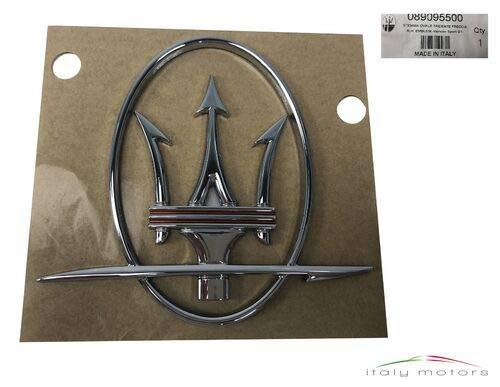 Maserati Original Emblem Tridente Dreizack Chrom 89095500