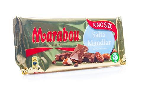 Marabou Milchschokolade Salta Mandlar - salzige Mandel, 200g (!!! Neue Sorte !!!)