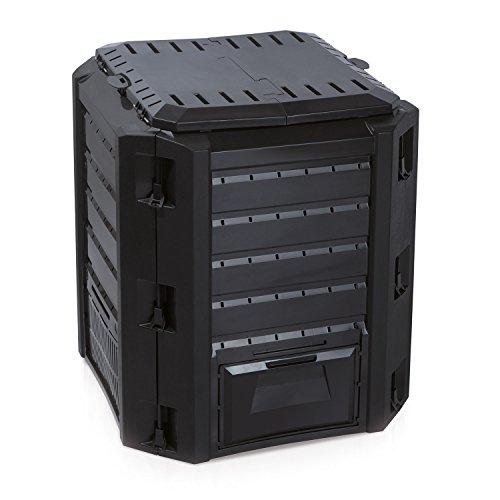 térmica bio compostador–Compostador plástico negro 380litros impermeable