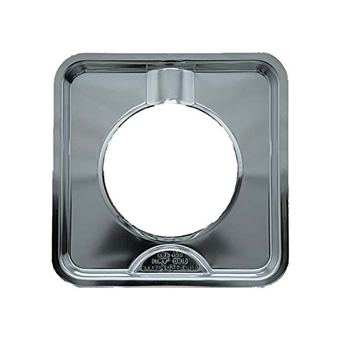 Range Kleen SGP-400 Chrome Square Range Pan / Yellow Label (4-PACK)