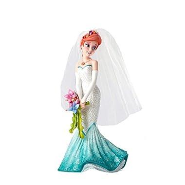 Enesco Disney Showcase Ariel Wedding Stone Resin Princess Figurine