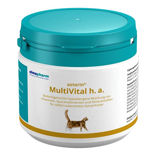 almapharm astorin MultiVital h.a. 250 g für Katzen