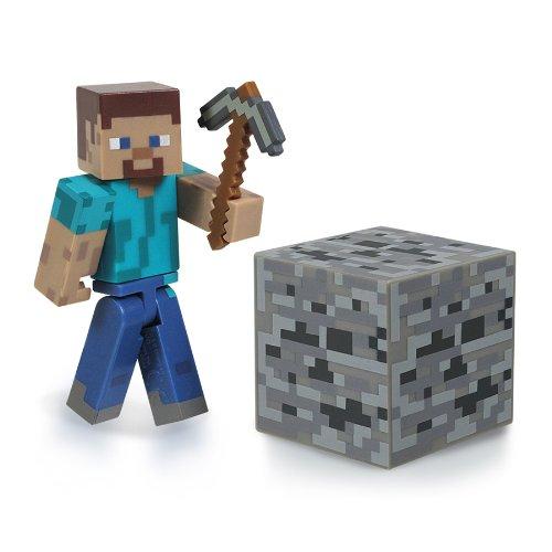 Minecraft 16501 - Figurine Articulée avec Accessoires Minecraft Overworld Steve