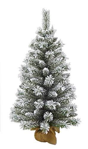 MAURY'S Albero di Natale Juta 60 Cm Innevato