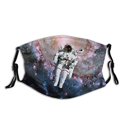 Space Surfing Nasa Astronaut-Mascarilla pasamontañas, lavable y...