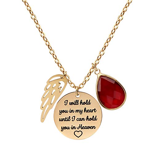 JSJOY Personalized Pendant Necklaces Memorial Gifts I