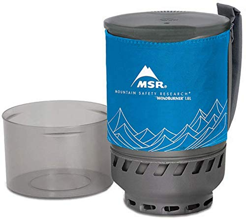 Msr Wind Burner Accessory Pot, 1.8Litre, Blue