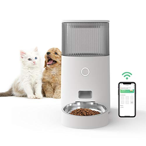 ZAMATE Pet Feeder, 2.5L Smart Pet Feeder for Cats and Dogs, Cat and Dog Food Dispenser (Automatic Pet Feeder)