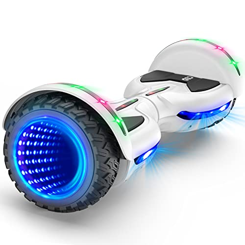 CBD Flash Hoverboard, All Terrain Hoverboard Off Road Two-Wheel 6.5 inch Self Balancing Hoverboard...