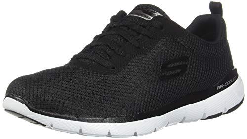 Skechers Flex Appeal 3.0-First Insight, Zapatillas Mujer, Negro...