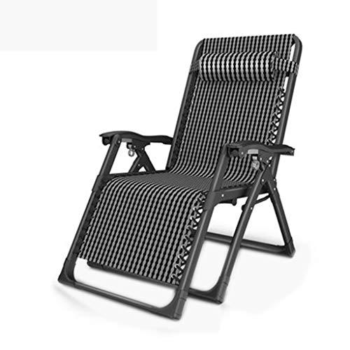 Nouveau Chaise pliante Déjeuner Siesta Lit Multi-fonction Paresseux Accueil Dossier Adulte Plage Portable Chaise (Couleur : Tes Hague, taille : A)