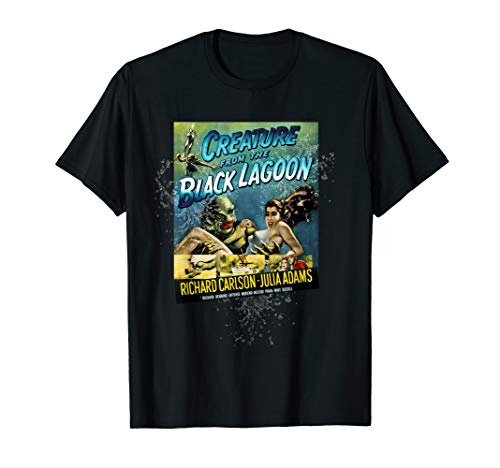 Vintage Creature From the Black Lagoon Vintage Poster T-shirt, Men, Women, S to 3XL
