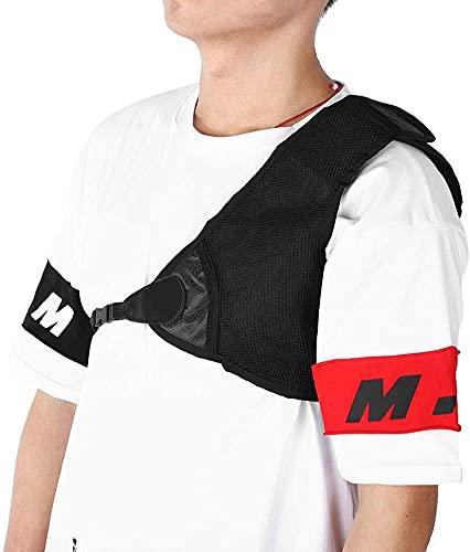 Namvo Protección para el pecho con arco, ajustable, protector de pecho de nailon para tiro, para protección de arco izquierdo, para tiro y caza, accesorios de tiro con arco