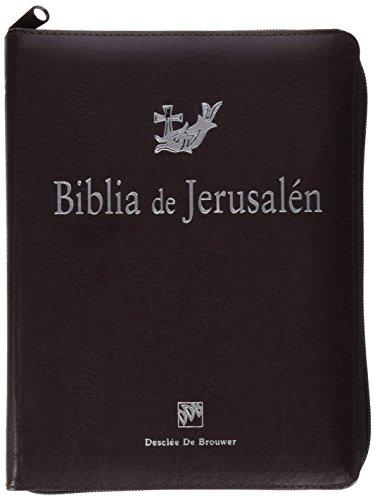 Biblia De Jerusalen 4ª Man 3 Cremallera (Biblia de Jerusalén)