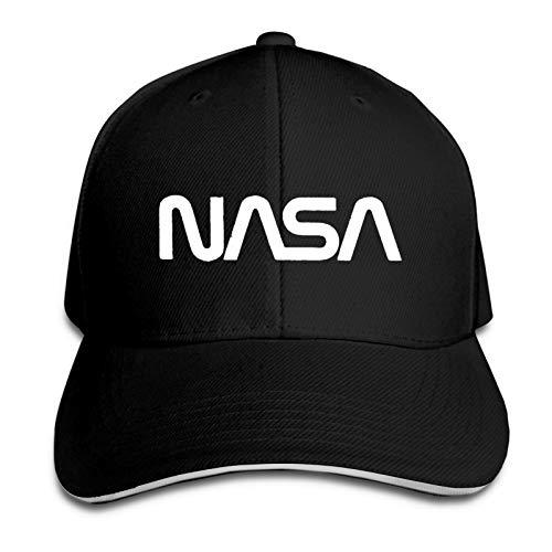 Casquette NASA Worm Full, Just Got Real Gorra De Béisbol Ajustable Personalizar Denim Dad Sombrero/Negro