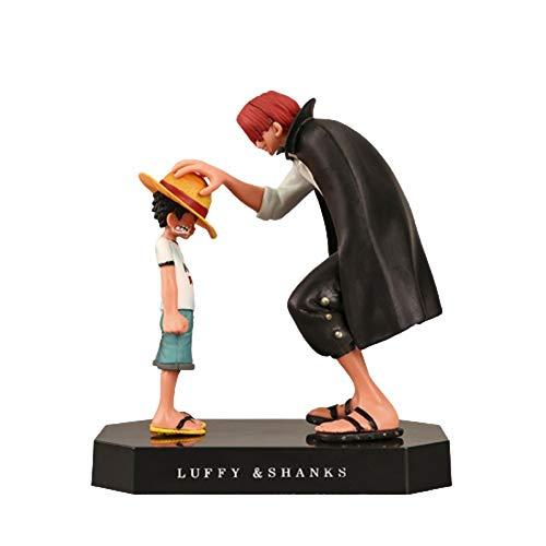 Yousheng Una Pieza Redhead Shanks DIO un Sombrero de Paja a la Infancia Luffy Modelo Decoración Figura