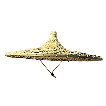 Sunny Hill China Guangdong Local Characteristics Hand-Woven Large Conical Hats Sun Hat 21 Inch