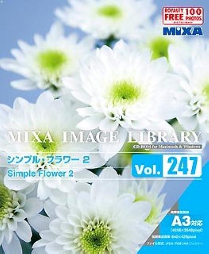 背の高い電気技師祝福MIXA IMAGE LIBRARY Vol.247 シンプル?フラワー2