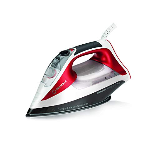 Great Deal! Reliable Velocity 260IR Steam Iron - Auto Control Compact Vapor Generator with Sensor Te...